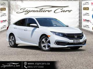 Used 2019 Honda Civic Sedan LX CVT. ONE OWNER. NO ACCIDENT. for sale in Mississauga, ON