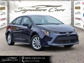 Used 2020 Toyota Corolla LE. AUTO. NO ACCIDENT. SUNROOF. BLIND SPOT MONITORING. for sale in Mississauga, ON