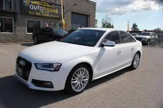 Used 2015 Audi A4 S-LINE,PANAROOF,SPORT SEATS,PUSH START, SPORT SEATS for sale in Newmarket, ON