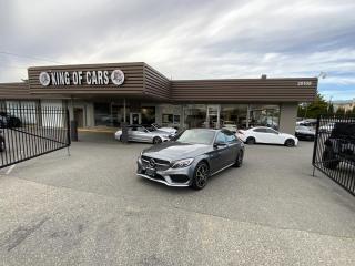 Used 2017 Mercedes-Benz C-Class AMG C43 Sedan AUTONOMOUS BRAKING for sale in Langley, BC