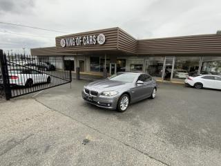 Used 2016 BMW 5 Series 528i xDrive HEADS UP DISPLAY for sale in Langley, BC