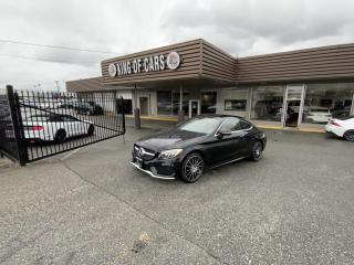 Used 2017 Mercedes-Benz C-Class C300 4MATIC COUPE for sale in Langley, BC