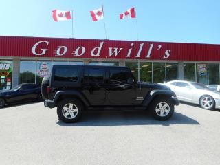 Used 2015 Jeep Wrangler UNLIMITED SPORT! for sale in Aylmer, ON