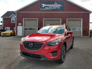 Used 2016 Mazda CX-5 G TRG GRAND TOUR AWD! Back-up Cam! B-tooth! NAV! Heated Front Seats! for sale in Dunnville, ON
