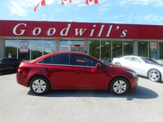 Used 2014 Chevrolet Cruze 1LT! REMOTE START! BLUETOOTH! for sale in Aylmer, ON