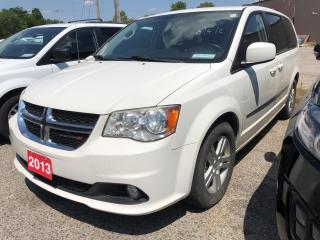 Used 2013 Dodge Grand Caravan CREW! BACKUP CAMERA! for sale in Aylmer, ON