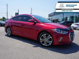 Used 2017 Hyundai Elantra SUNROOF | SIRIUS XM | BACK UP CAM  - $75 B/W for sale in Brantford, ON