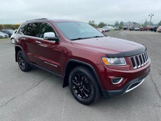 Used 2016 Jeep Grand Cherokee Limited for sale in Pintendre, QC