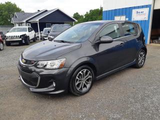 Used 2017 Chevrolet Sonic **EN PRÉPARATION** for sale in St-Pierre-Les-Becquets, QC