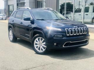 Used 2016 Jeep Cherokee LIMITED 4X4 V6 TOIT PANO. for sale in Ste-Marie, QC