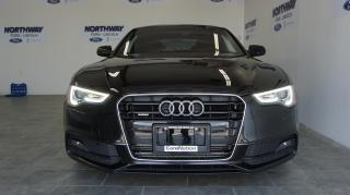 Used 2016 Audi A5 S-LINE | NAV | LEATHER | SUNROOF | QUATTRO | 52 KM for sale in Brantford, ON
