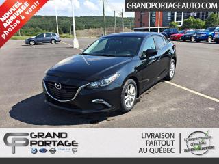 Used 2016 Mazda MAZDA3 Berline à 4 portes, automatique GS **Toi for sale in Rivière-Du-Loup, QC