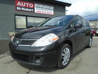 Used 2009 Nissan Versa for sale in St-Hubert, QC