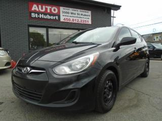 Used 2012 Hyundai Accent GL for sale in St-Hubert, QC