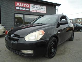 Used 2007 Hyundai Accent GLS for sale in St-Hubert, QC