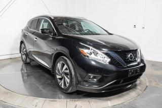 Used 2016 Nissan Murano AWD A/C MAGS CUIR TOIT PANO NAV for sale in Île-Perrot, QC