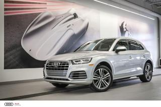 Used 2018 Audi Q5 PROGRESSIV for sale in Sherbrooke, QC