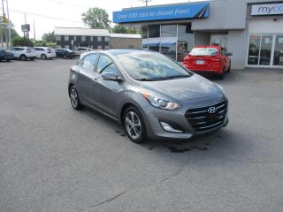 Used 2016 Hyundai Elantra GT GLS SUNROOF, NAV, HEATED SEATS, BACKUP CAM, ALLOYS!! for sale in Kingston, ON