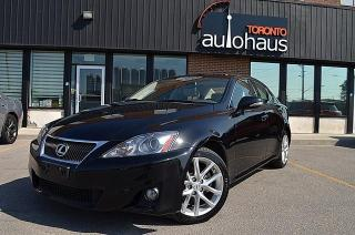 Used 2011 Lexus IS 250 AWD/NAVI/CAM/LEATHER/SUNROOF for sale in Concord, ON