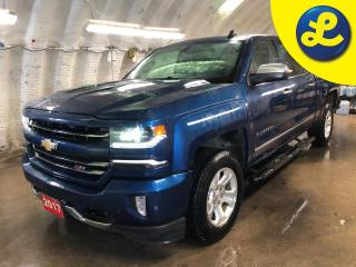 Used 2017 Chevrolet Silverado 1500 LTZ Z71 4WD Crew Cab * Projection Navigation * Leather * Sunroof * Spray In Bed Liner * Tonneau Cover * Side Steps * Back Up Camera* Cruise Control * for sale in Cambridge, ON