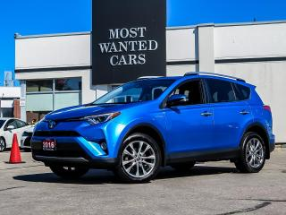 Used 2016 Toyota RAV4 Hybrid Limited HYBRID|NAV|BLIND|LTHR for sale in Kitchener, ON
