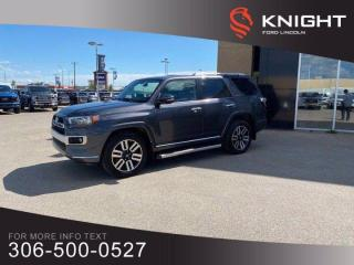 Used 2018 Toyota 4Runner Limited, Beautiful Condition, Low KM's!!! for sale in Moose Jaw, SK