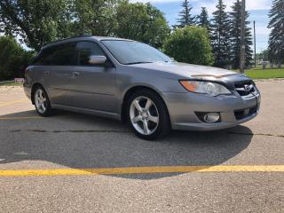 Used 2009 Subaru Legacy PZEV New Brakes! Alloy Wheels! Remote Start! Sunroof! for sale in Winnipeg, MB