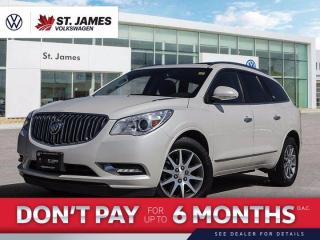 Used 2014 Buick Enclave Leather Clean CarFax, One Owner, Blind Spot Alert for sale in Winnipeg, MB