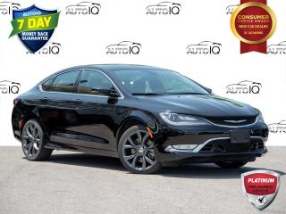 Used 2015 Chrysler 200 C Leather | Navigation | Panoramic Sunroof for sale in St Catharines, ON