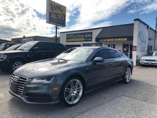 Used 2012 Audi A7 Premium Plus S LINE PKG FULLY EQUIPPED for sale in Etobicoke, ON