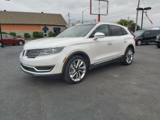 Used 2016 Lincoln MKX Reserve for sale in Cornwall, ON