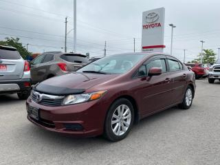 Used 2012 Honda Civic EX-L LEATHER+NAV! for sale in Cobourg, ON