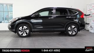 Used 2016 Honda CR-V TOURING + AWD + CUIR + VITRES TEINTEES! for sale in Trois-Rivières, QC