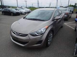 Used 2013 Hyundai Elantra 4dr Sdn Auto GL,A/C,CRUISE,BLUETOOTH for sale in Mirabel, QC