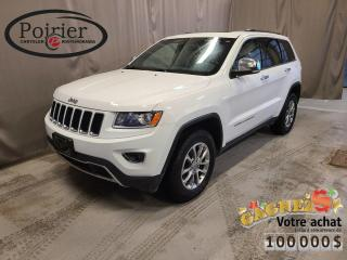 Used 2014 Jeep Grand Cherokee Limited Le VUS le plus primé de tous les temps for sale in Rouyn-Noranda, QC