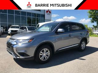 Used 2019 Mitsubishi Outlander ES AWC for sale in Barrie, ON
