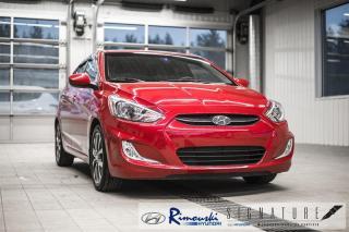 Used 2017 Hyundai Accent SE Chez Rimouski Hyundai for sale in Rimouski, QC