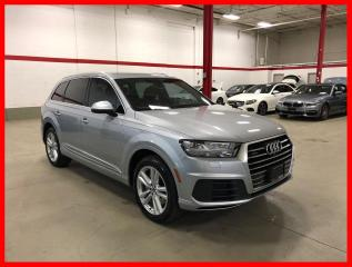 Used 2017 Audi Q7 TECHNIK S-LINE SPORT for sale in Vaughan, ON