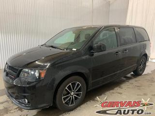Used 2018 Dodge Grand Caravan GT Cuir Portes Électriques Volant Chauffant Caméra Mags *Stow N Go* for sale in Trois-Rivières, QC