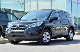 Used 2015 Honda CR-V LX FWD DEAL PENDING BAS KM FWD*AC*AUTO*CAMERA*SIEGES CHAUFFANTS*++ for sale in Lachine, QC