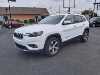 Used 2019 Jeep Cherokee Limited for sale in Cornwall, ON