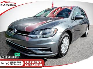 Used 2019 Volkswagen Golf *S*CAMÉRA*SIÈGES CHAUFF* for sale in Québec, QC