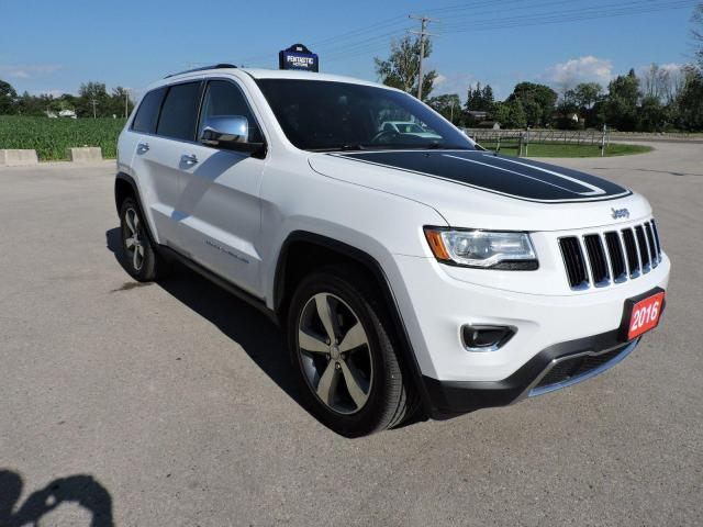 2016 Jeep Grand Cherokee Limited Leather Navigation  Don't pay for 3
