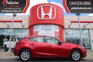 Used 2016 Mazda MAZDA3 GS- CERTIFIED-BLUETOOTH-LOW KM for sale in Sudbury, ON
