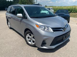Used 2018 Toyota Sienna LE 8 PASSENGERS POWER SLIDEDOOR for sale in Waterloo, ON