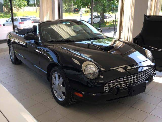 2002 Ford Thunderbird V8 Convertible with Hard Top!