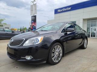 Used 2015 Buick Verano PREMIUM/LEATHER/SUNROOF/NAV/BACKUPCAM for sale in Edmonton, AB