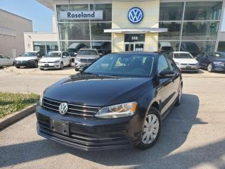 Used 2016 Volkswagen Jetta Sedan Trendline+ 4dr FWD Sedan for sale in Burlington, ON