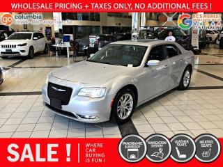 Used 2019 Chrysler 300 300 Touring - Accident Free / Local / Nav for sale in Richmond, BC