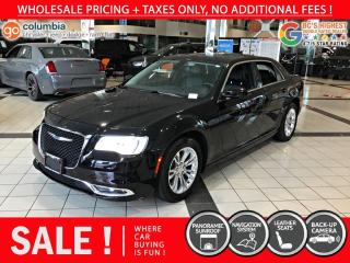 Used 2019 Chrysler 300 300 Touring L - Accident Free / Local / Nav for sale in Richmond, BC